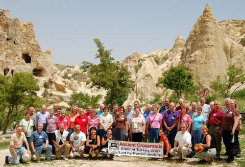 Ancient Crossroads Tour led by Ferrell Jenkins. Photo made in Cappadocia.
