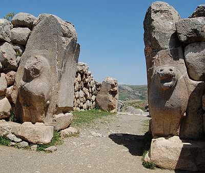 Lion's Gate at Ancient Hattusas