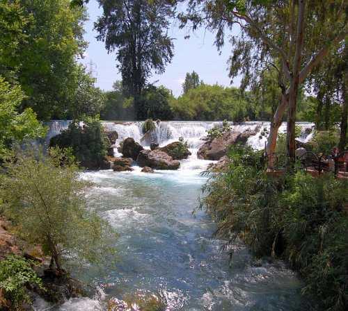 Tarsus Waterfall. Photo by Ferrell Jenkins.