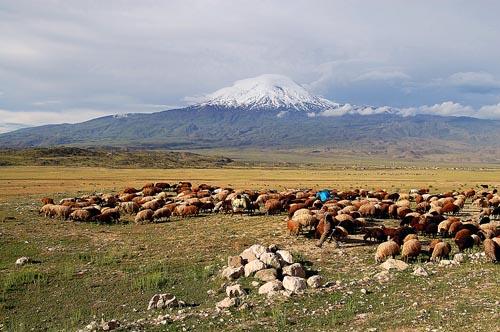 Mount Ararat in Eastern Turkey near the Iranian border. Photo by Ferrell Jenkins.