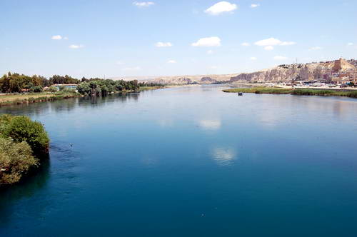 Euphrates River in southeastern Turkey. Photo by Ferrell Jenkins.