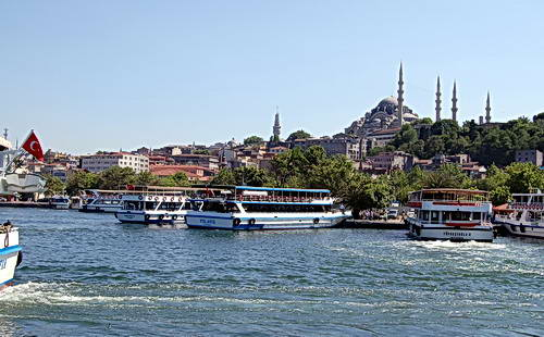 The Golden Horn in Istanbul. Photo by Ferrell Jenkins.