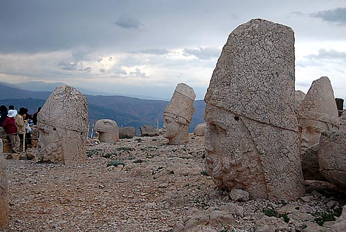 Mount Nemrut (Nemrut Dagi). Photo by Ferrell Jenkins.