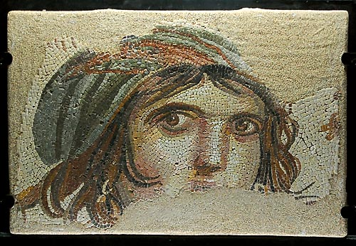 Gypsy Girl from Zeugma in Gaziantep, Turkey, Museum. Photo by Ferell Jenkins.