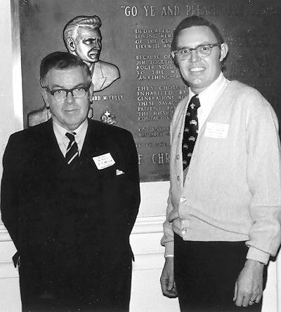 F. F. Bruce and Ferrell Jenkins in 1975.