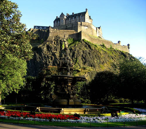 Edinburgh Castle. Photo by Ferrell Jenkins.
