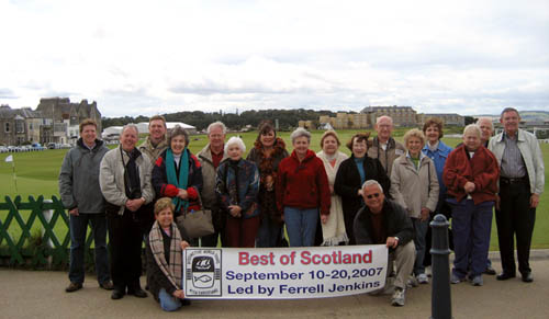 Best of Scotland Group Led by Ferrell Jenkins.