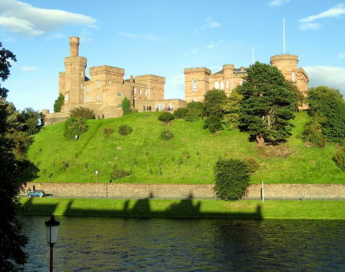 Inverness Castle. Photo by Ferrell Jenkins.