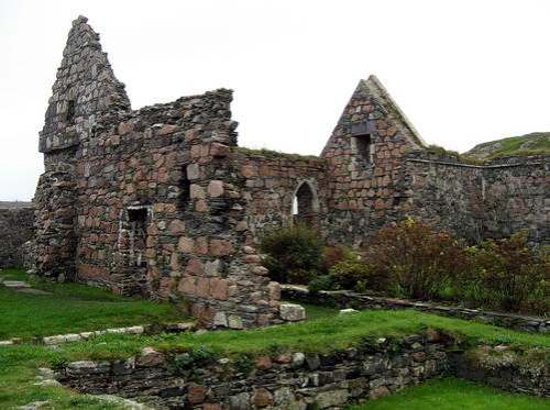Iona Nunnery. Photo by Ferrell Jenkins.