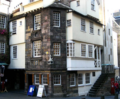 John Knox House, Edinburgh, Scotland.