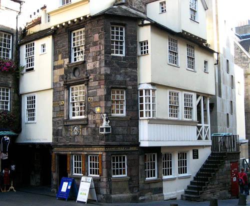 John Knox House, Edinburgh, Scotland.