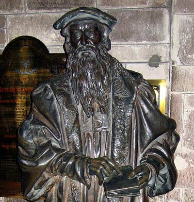 John Knox in St. Giles. Photo by Ferrell Jenkins.
