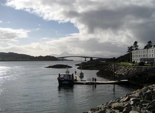 Skye Bridge. Photo by Ferrell Jenkins.