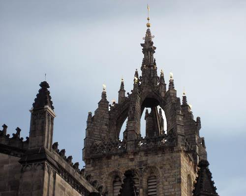 St. Giles, Edinburgh, Scotland. Photo by Ferrell Jenkins.
