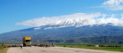 Mount Ararat in Eastern Turkey. Photo by Ferrell Jenkins