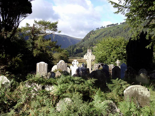 Glendalough in County Wicklow, Ireland. Photo by Ferrell Jenkins.