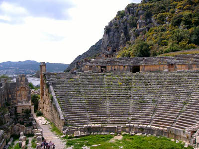 Theater at Myra in Lycia