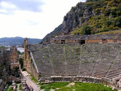 Theater at Myra in Lycia