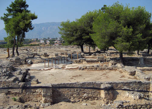 Isthmia, near ancient Corinth, was the site of athletic games in honor of Poseidon. Photo by Ferrell Jenkins.