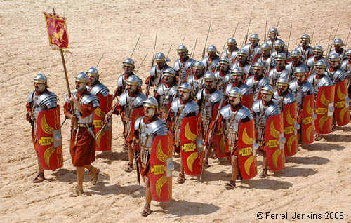 The 6th Roman Legion at Jerash, Jordan. Photo by Ferrell Jenkins.