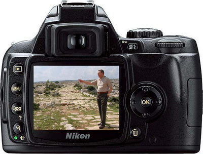 Nikon D40X and Ferrell Jenkins on Roman Road near Tarsus.