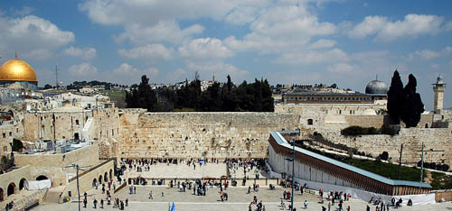 The Western Wall in Jerusalem. Photo by Ferrell Jenkins.