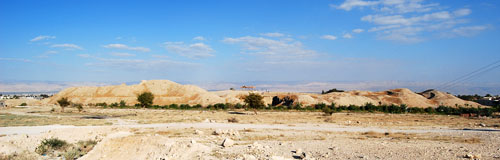 Site of ancient Jericho. View toward the east. Photo by Ferrell Jenkins.