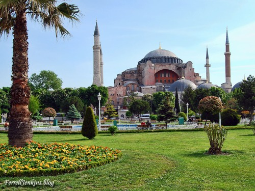 Hagai Sophia in Istanbul, formerly Constantinople. Photo: FerrellJenkins.blog.