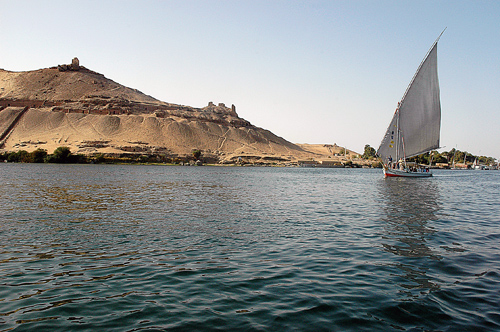Kitchener's Island at Aswan, Egypt. Photo by Ferrell Jenkins.