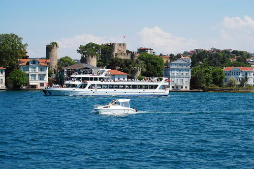 A view along the Bosphorus. Photo by Ferrell Jenkins.
