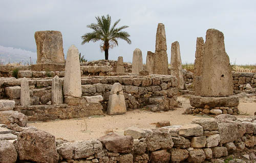 The Temple of Obelisks at Byblos. Photo by Ferrell Jenkins.