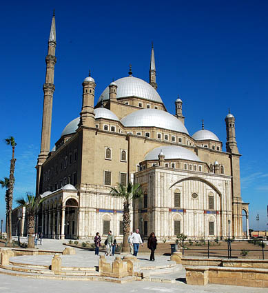 Mohammed Ali Alabaster Mosque in Cairo. Photo by Ferrell Jenkins.