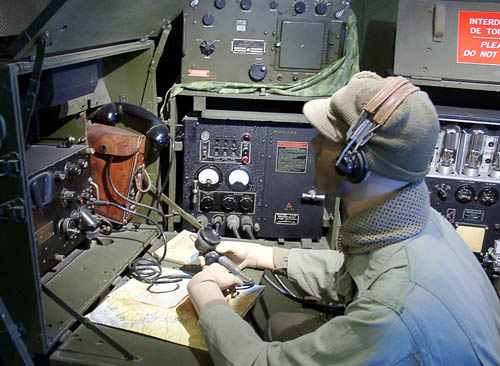 Communications was important in World War II. Photo by Ferrell Jenkins.