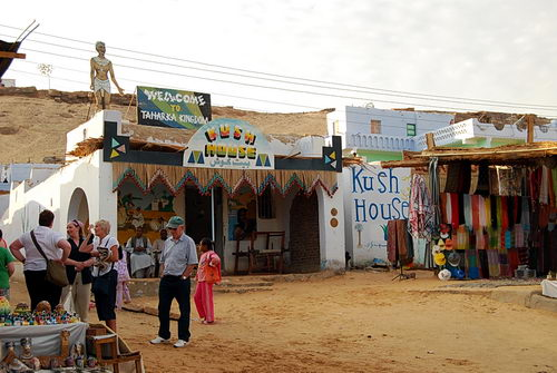 House of Kush at Nubian Village, Aswan, Egypt. Photo by Ferrell Jenkins.