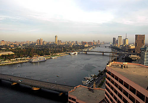 Cairo on the Nile River. Photo by Ferrell Jenkins.
