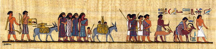Travel to egypt ferrell 39 s travel blog for Beni hasan mural