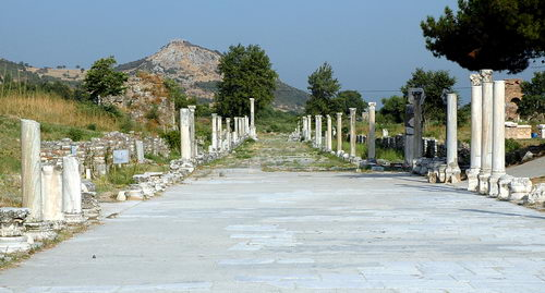 The Arcadian Way at Ephesus. Photo by Ferrell Jenkins.