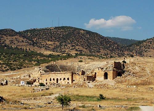 Roman theater at Hierapolis. Photo by Ferrell Jenkins.