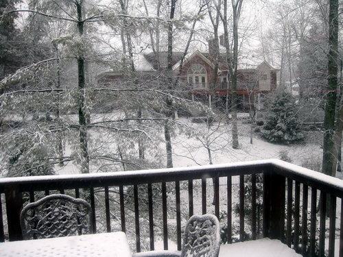 Snow in Louisville. Photo by Ferrell Jenkins.
