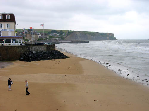 """Omaha"" Beach in Normandy. Photo by Ferrell Jenkins."
