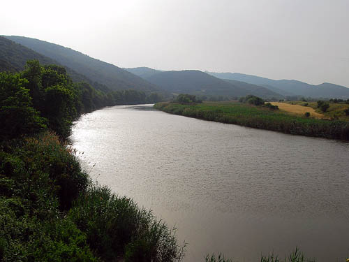 The River Strymon at Amphipolis. Photo by Ferrell Jenkins.