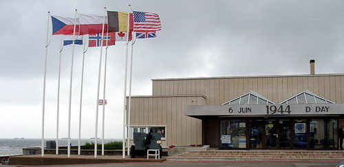The D Day Museum at Normandy. Photo by Ferrell Jenkins.