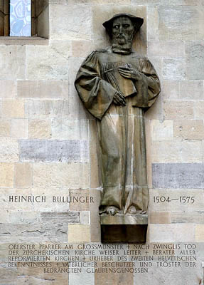 Heinrich Bullinger. Photo by Ferrell Jenkins.