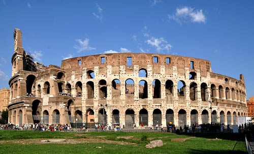 The Colosseum in Rome. Photo by Ferrell Jenkins.