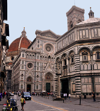 Duomo, Baptistery, and Campanile. Photo by Ferrell Jenkins.