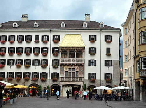 The Golden Roof in Innsbruck. Photo by Ferrell Jenkins.