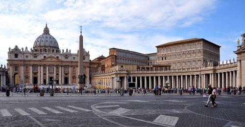 St. Peter's basilica in Vatican City. Photo by Ferrell Jenkins.