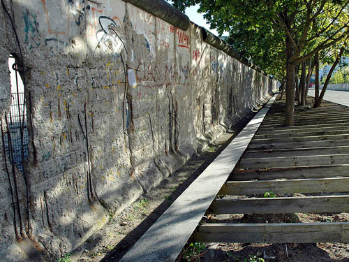 A remnant of the Berlin Wall. Photo by Ferrell Jenkins.