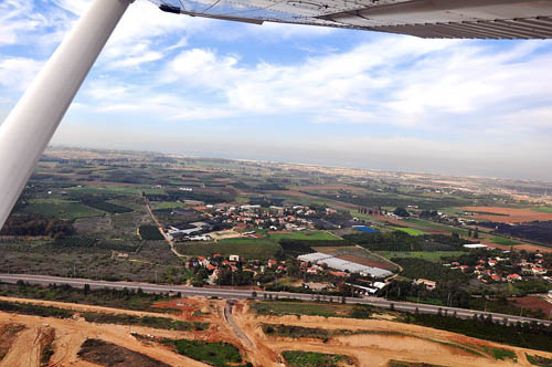 The Coastal Plain of Philistia, south of Tel Aviv. Photo by Ferrell Jenkins.