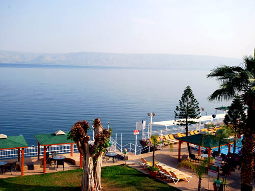 Sea of Galilee from Ron Beach Hotel